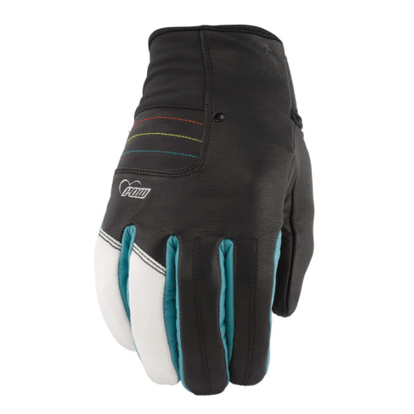The Board Basement  Pow Gloves Womens Chase Snowboard Goatskin Gloves New 2013 Teal Various Sizes