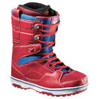 Vans Andreas Wiig Snowboard Boots 2013 in Red Blue