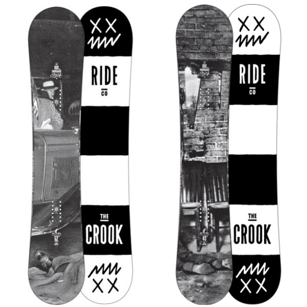 Product image of Ride Crook Snowboard Rocker 2014