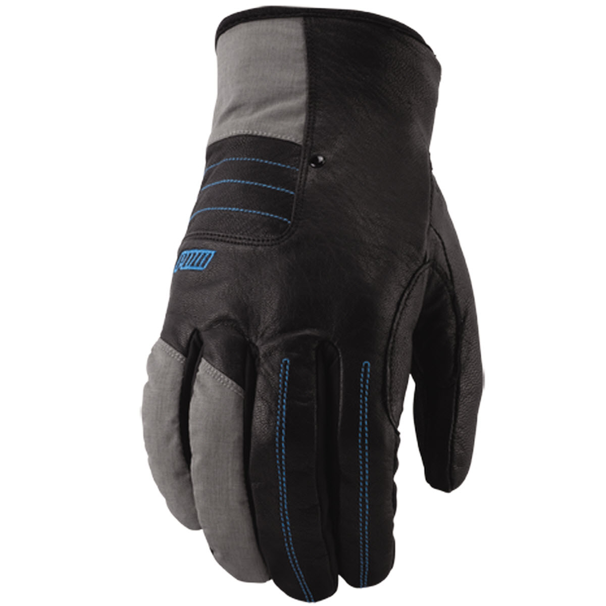 Pow Villain Snowboard Gloves 2013 in Grey Large
