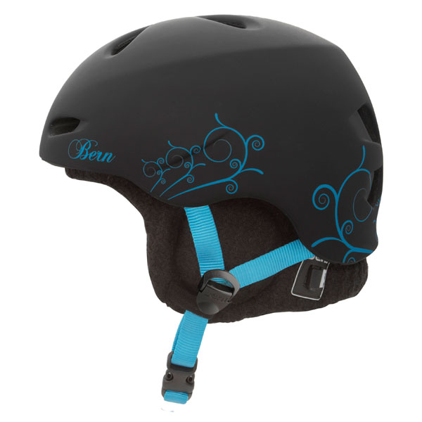 Product image of Bern Berkeley Womens Zip Mold Audio Helmet 2013 Lindsey Jacobellis Pro Model