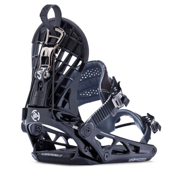 K2 Cinch CTX 2014 Snowboard Bindings New Black Speed Rear