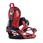K2 Snowboard Bindings Cinch CTS Size Large Red 2014