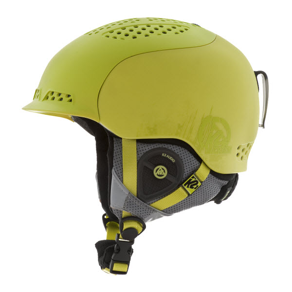 K2 Diversion Ski Snowboard Helmet Lime2014