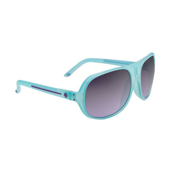 Product image of Spy Optic Stratos ll Sunglasses Aqua Grey Fade Purple Mirror Lens