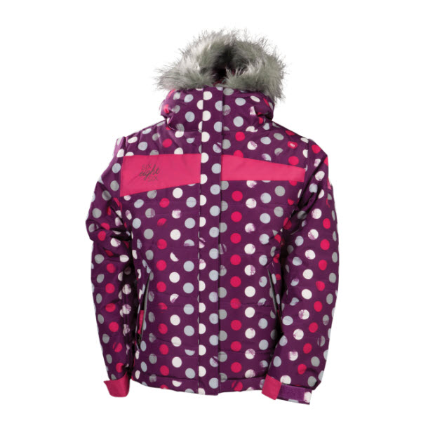 Product image of 686 Girls Mannual Gidget Puffy Jacket M LT Plum Sample 2014 Kids  8-10