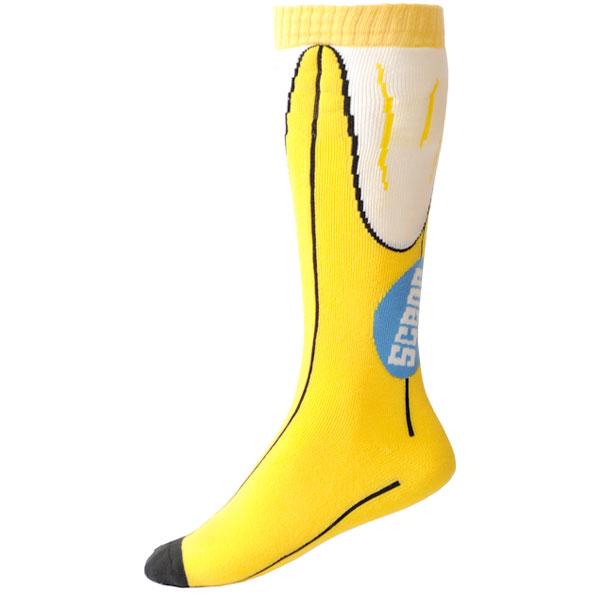 Product image of Scene Socks snowboard ski sock in Banana