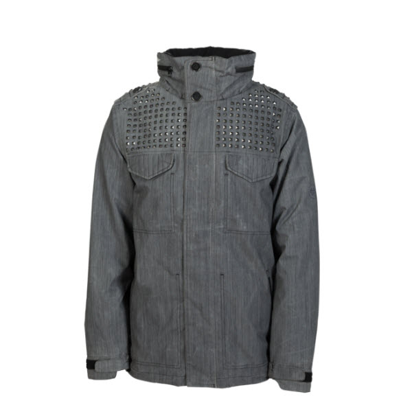 Product image of 686 Limited Hellraiser Stud Snowboard Jacket Gunmetal L Sample 2014