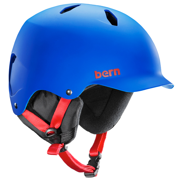 Product image of Bern Bandito EPS Junior snowboard ski skate Helmet 2014 in Matte Cobalt Blue