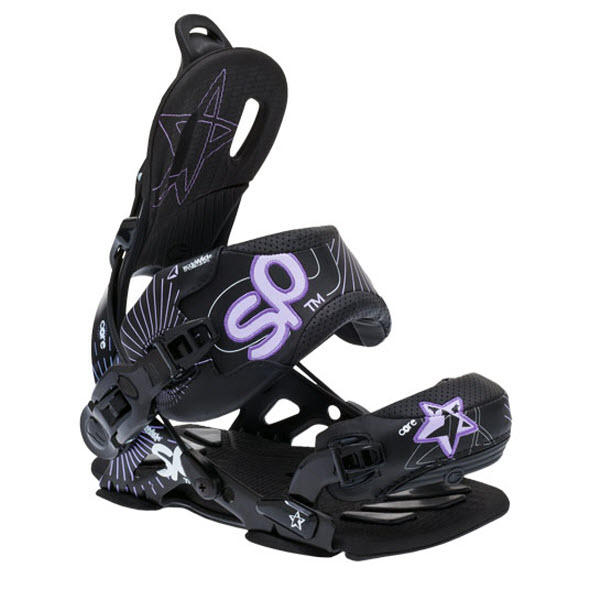 SP Core Womens Fastec Bindings Black 2012