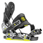 Flow NX2-GT snowboard bindings 2014 in Stealth Black