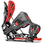 Flow NX2-RS snowboard bindings 2014 in Phantom Black