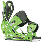 Flow NX2-AT snowboard bindings 2014 in Green