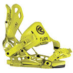 Flow NX2-SE snowboard bindings 2014 in Neon Lime
