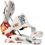 Flow Fuse-GT snowboard bindings 2014 in Bone White