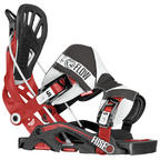 Flow Fuse-RS snowboard bindings 2014 in Rally Red