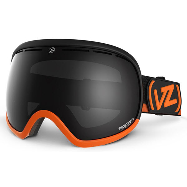 Von Zipper Fishbowl Goggles Frostbyte Ltd Edition Tangerine Black Chrome 2014