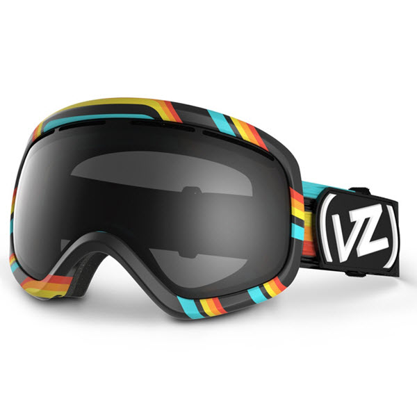 Von Zipper Skylab Snowboard Goggles Xcyte Black with Black Chrome Lens New 2014
