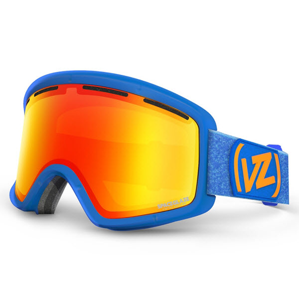 Von Zipper Beefy Goggles Spaceglaze Blue with Lunar Chrome Lens 2014