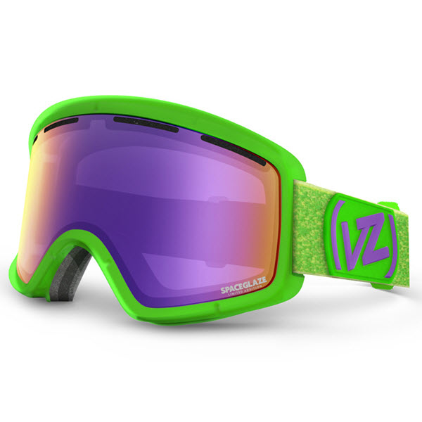 Von Zipper Beefy Goggles Spaceglaze Lime with Meteor Chrome Lens 2014