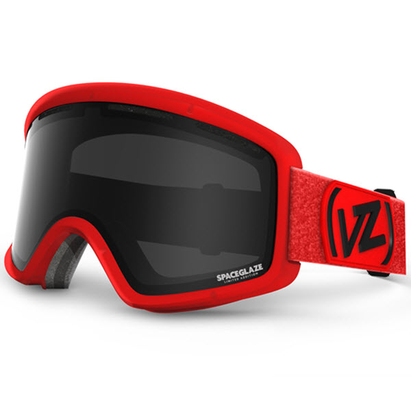 Von Zipper Beefy Goggles Spaceglaze Red with Blackout Lens 2014