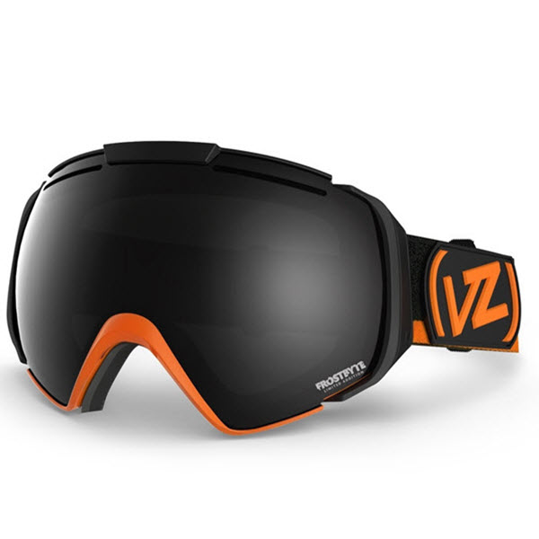 Von Zipper El kabong Goggles Frostbyte Tangerine with Black Chrome Lens New 2014