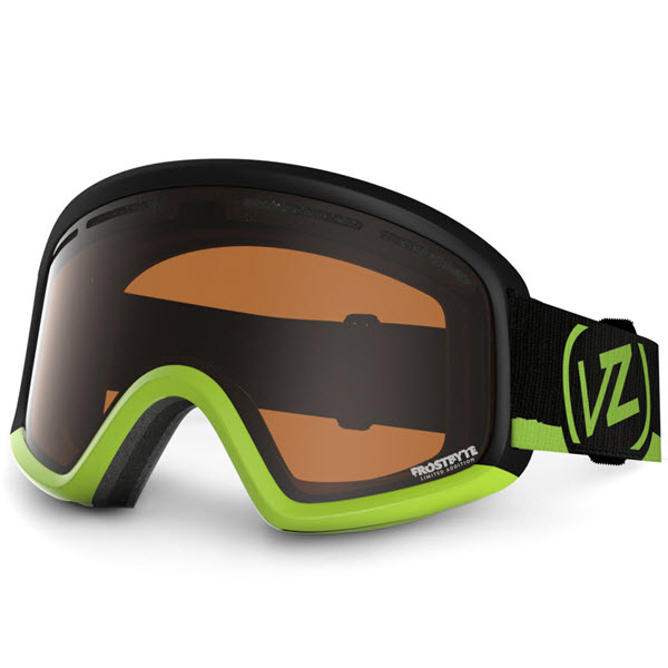 Product image of Von Zipper Trike Kids Snowboard Goggles Frostbyte Lime Bronze Lens