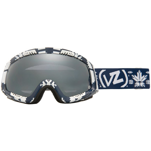VonZipper Feenom Snowboard Goggles John Jackson Kush with Black Chrome 2013