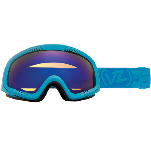 VonZipper Feenom Snowboard Goggles Blue Satin with Astro Chrome 2013