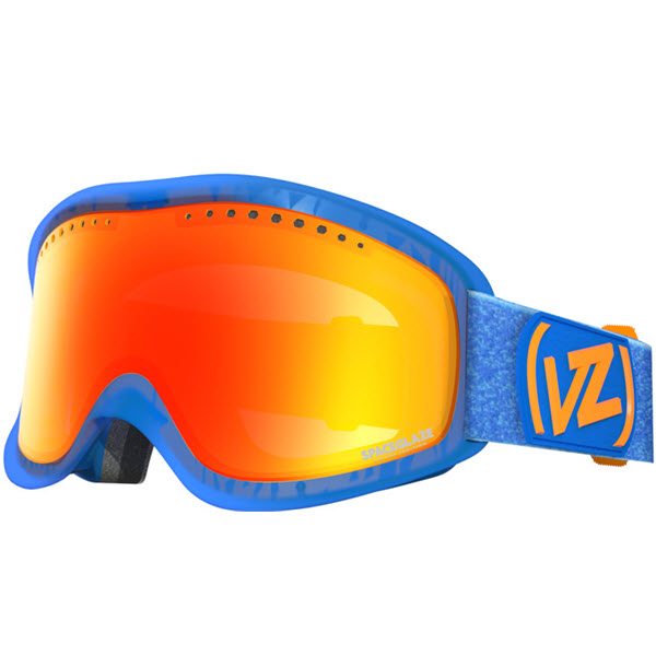 Von zipper Sizzle Goggles 2014 in Spaceglaze Blue with Lunar Chrome