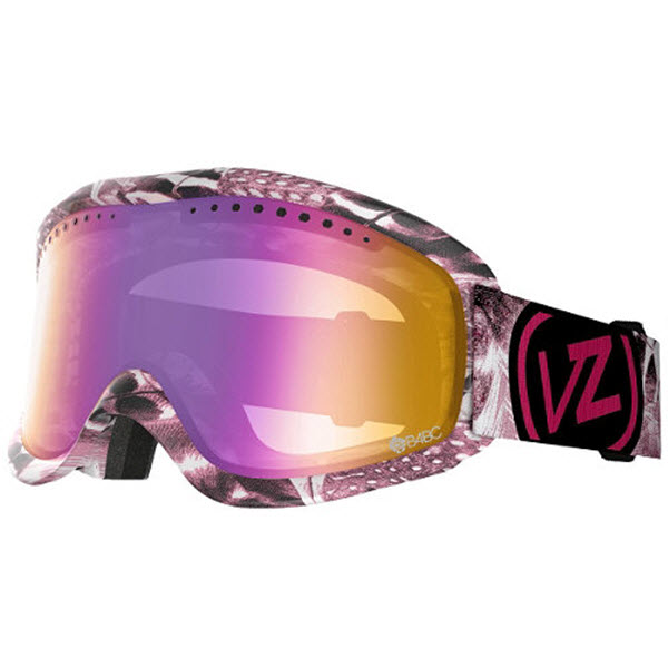 Von Zipper Sizzle Goggles 2014 in Tickler Pink with Bronze Pink Chrome