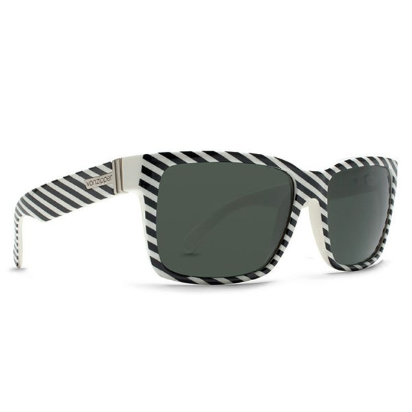 Product image of Von Zipper Elmore Sunglasses in Asum Black & White with Grey Lens, VZ