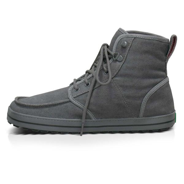 Sanuk Mens Skyline Charcoal Sandal Hi Tops New 2013 Vegan ...