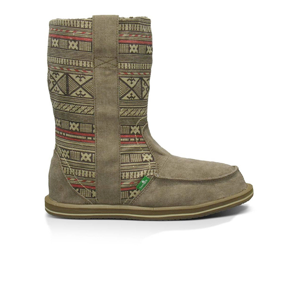 Sanuk Womens Wanderer Pull On Boot 2013 in Natural