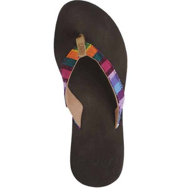Product image of Reef Womens Guatemalan Love Flip Flop 2014 in Multi Colour