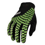Pow Slick Gloves Green Snowboard Pipe Gloves / Bike Gloves