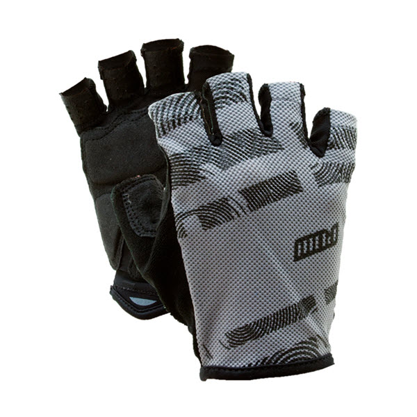 Pow Mens Hypervent Short Bike Gloves White 2013