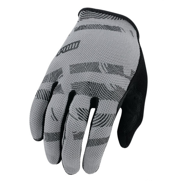 Pow Mens Hypervent Long Gloves Grey 2013