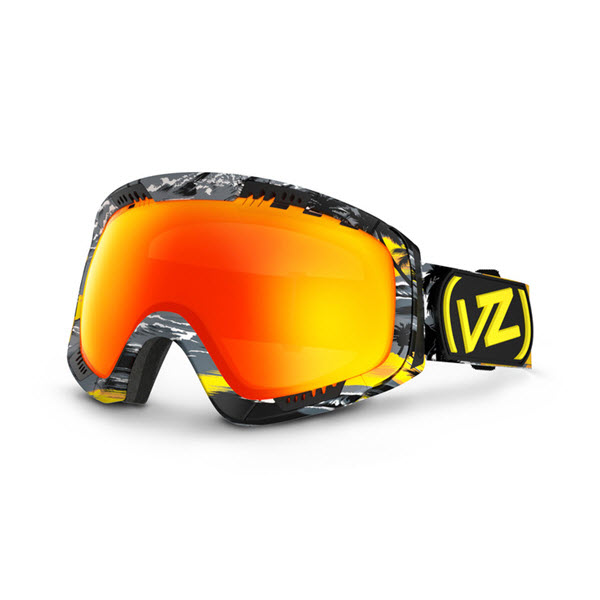 Von Zipper Feenom Snowboard Goggles Gnar-Waiian with Lunar Chrome Lens New 2014