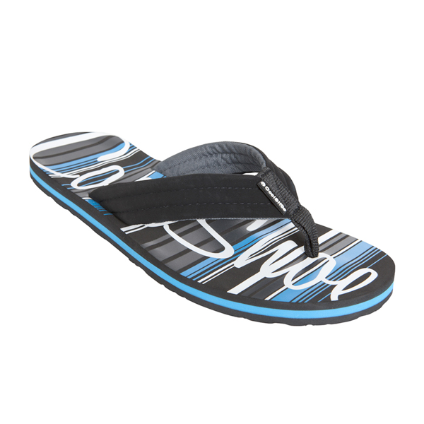cool shoe teddy multimat black mens flip flop sandals ebay. Black Bedroom Furniture Sets. Home Design Ideas