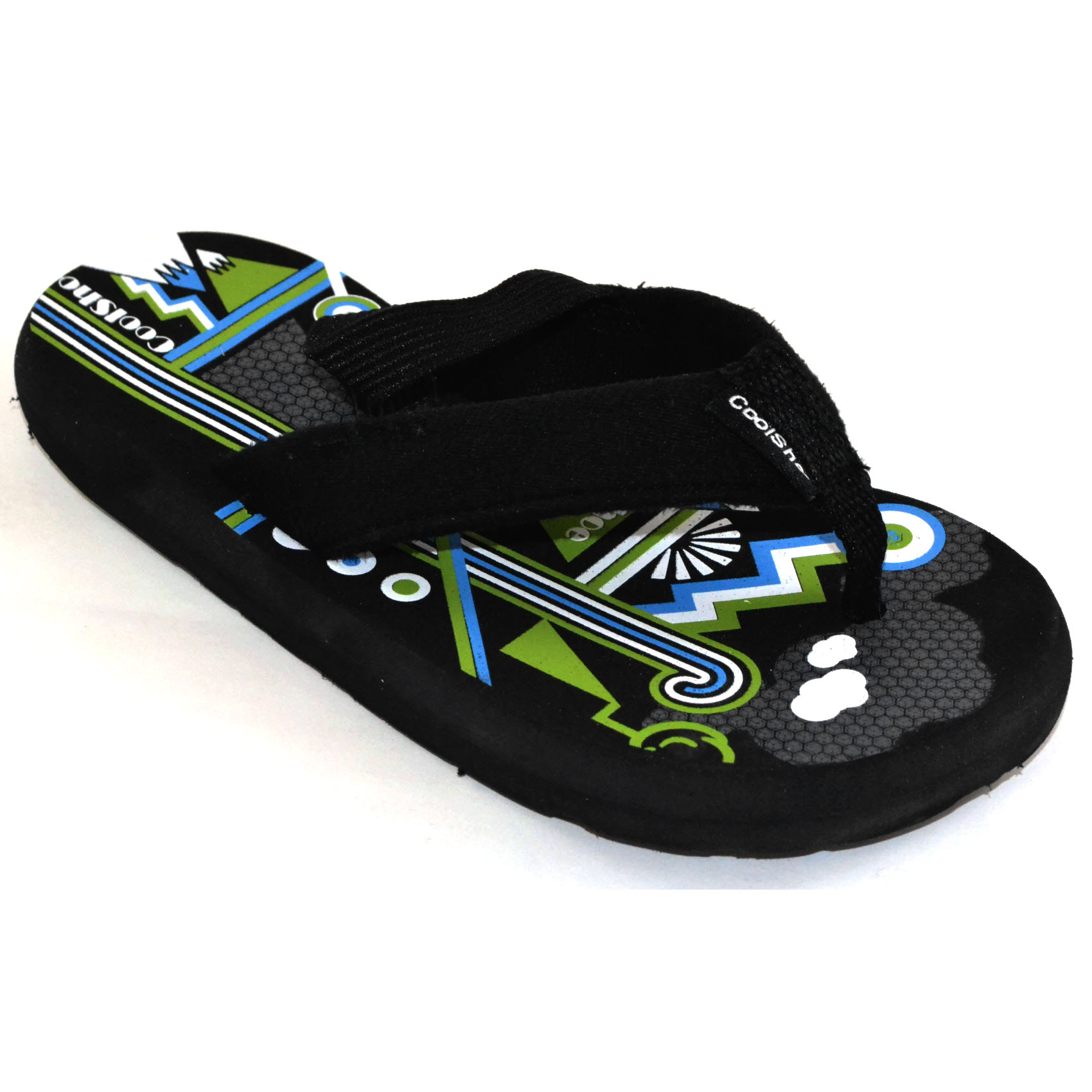 cool shoe landscape boy toddler flip flops in black boys. Black Bedroom Furniture Sets. Home Design Ideas