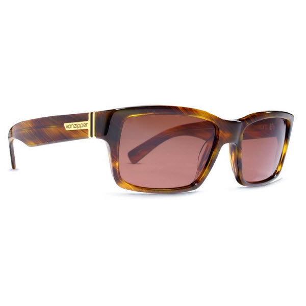 Product image of VonZipper Fulton Sunglasses in Tortoise with Vermillon Glass Lens, VZ