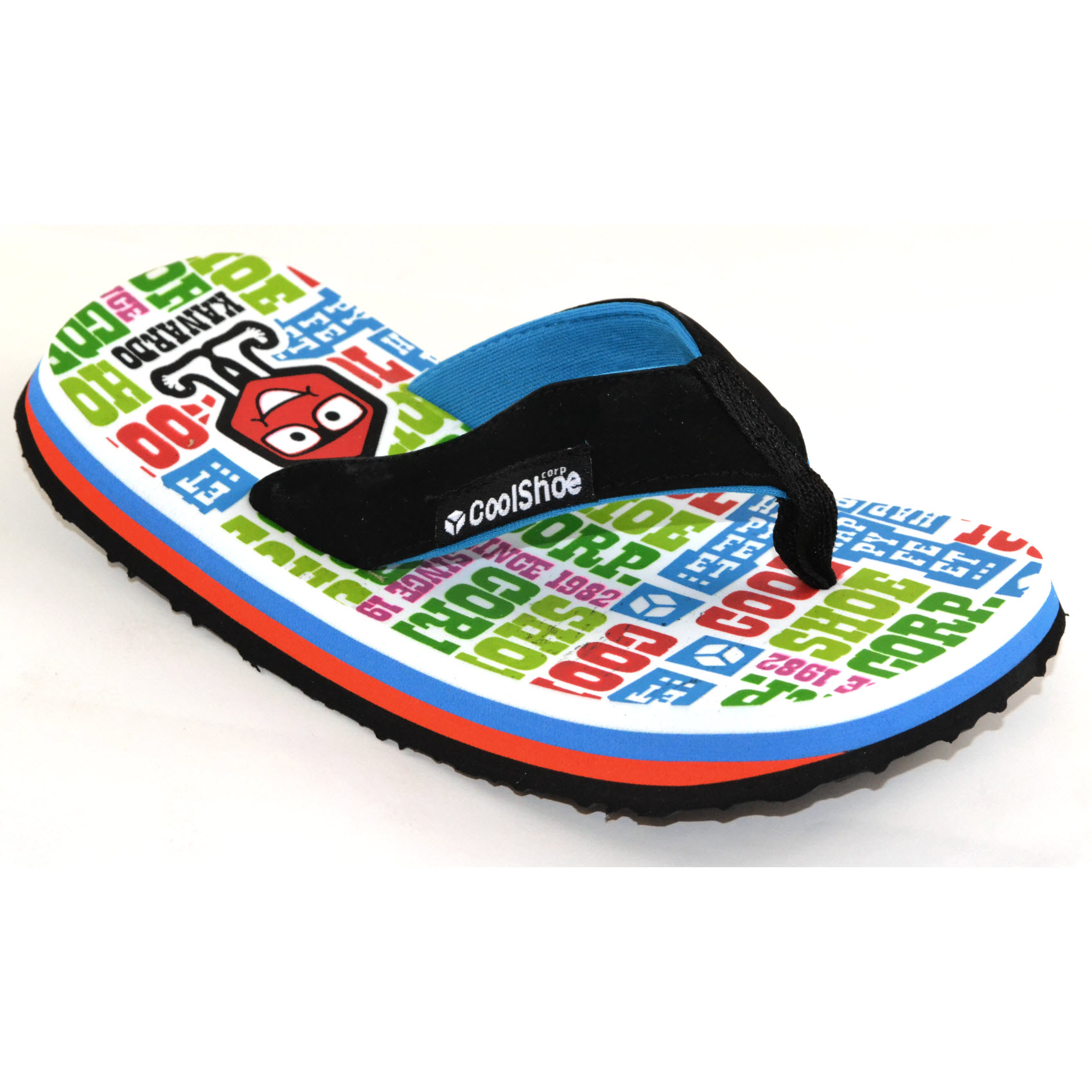 cool shoe happy feet boys flip flops sandals children. Black Bedroom Furniture Sets. Home Design Ideas