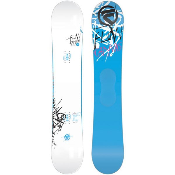 Flow Canvas Snowboard 2014 in 148cm Showroom Sample