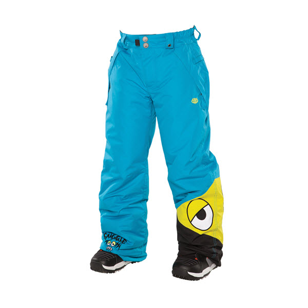 Product image of 686 Boys Snaggleface Snowboard Pants Cyan XL - Age 16