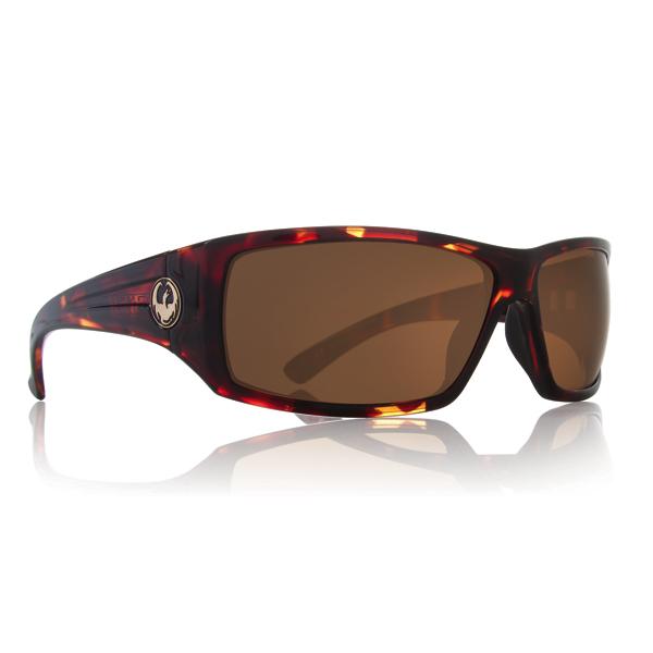 The Board Basement  Dragon Cinch Sunglasses 2014 in Tortoise - Bronze Lens
