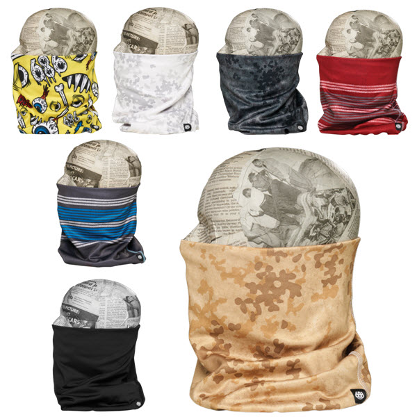 686 Mens 6 in 1 Roller Face Gaiter Snowboard Face Mask 2015