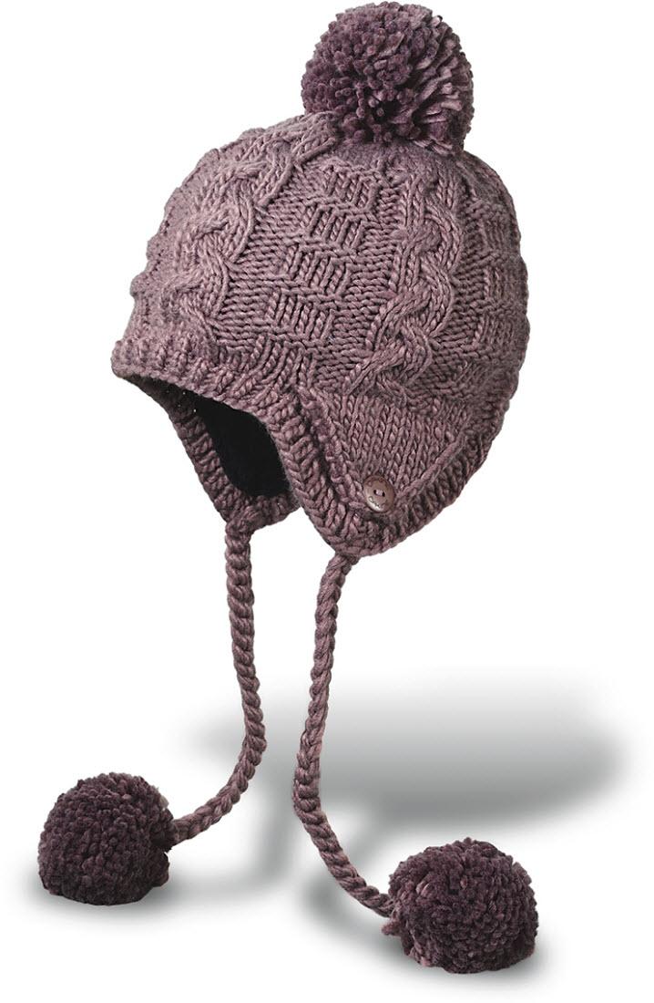 Product image of Dakine Womens Stella Beanie Hat Fleece Lined Charcoal