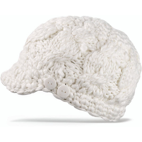 Product image of Dakine Womens Remix Beanie Hat in White