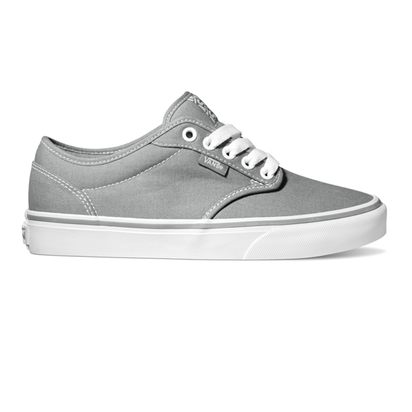 VANS WOMENS AUTHENTIC SHOE - LIGHT GREY DARK SHADOW
